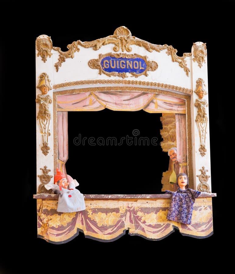 Guignol francês antigo foto de stock