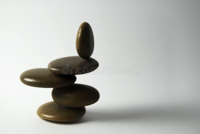 Guijarros de equilibrio imagen de archivo
