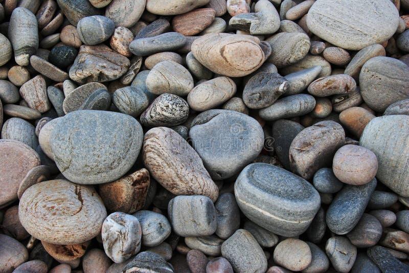Guijarros de la playa fotografía de archivo libre de regalías