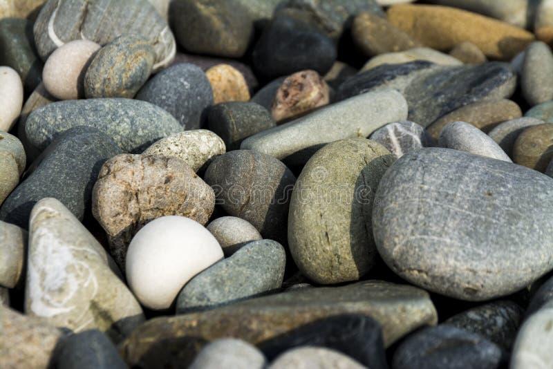 Guijarros del mar imagen de archivo libre de regalías