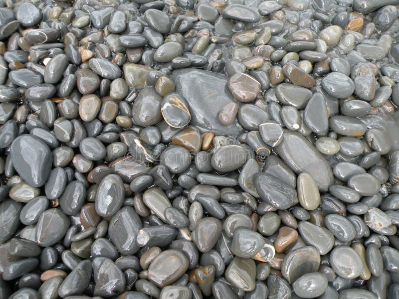 Guijarros en la playa fotografía de archivo libre de regalías