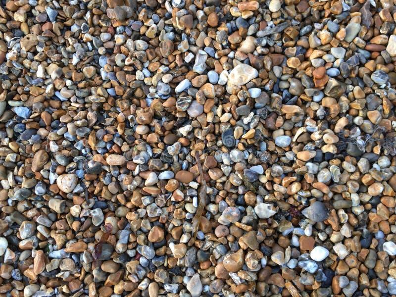 Guijarros en la playa fotos de archivo