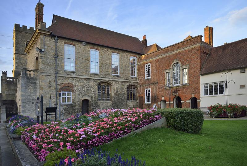 Guilde Hall, Abingdon images stock