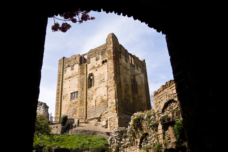 Guildford castle. Surrey. stock photos