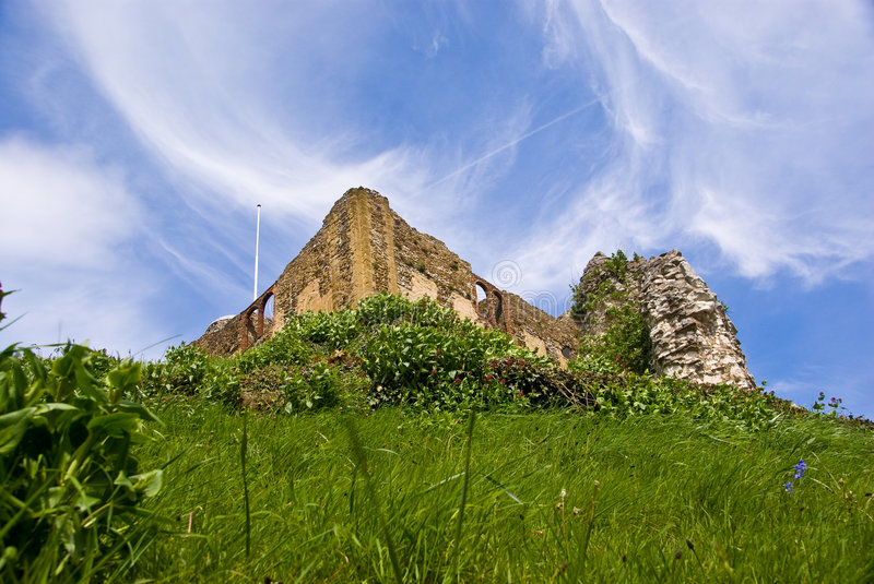 Guildford castle. Surrey. royalty free stock photos