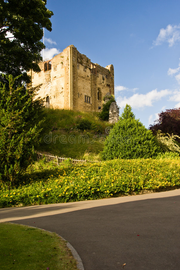 Guildford castle. Surrey stock image