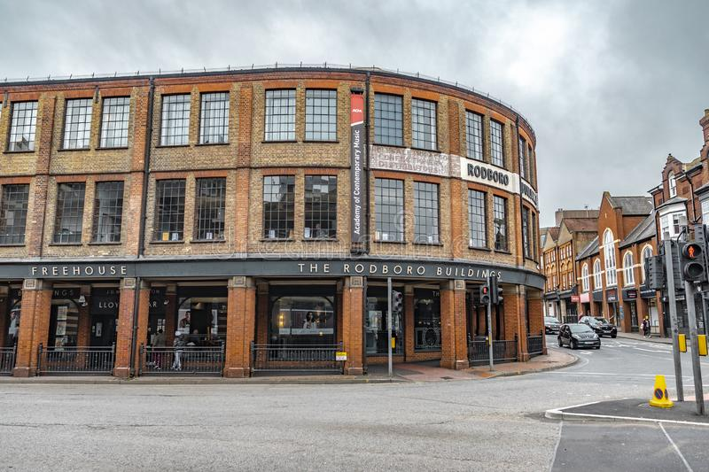 The Rodboro Buildings Of Guildford royalty free stock photography
