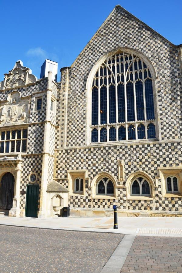 Guildhall Kings Lynn Norfolk. Medieval Guildhall Kings Lynn Norfolk royalty free stock photo