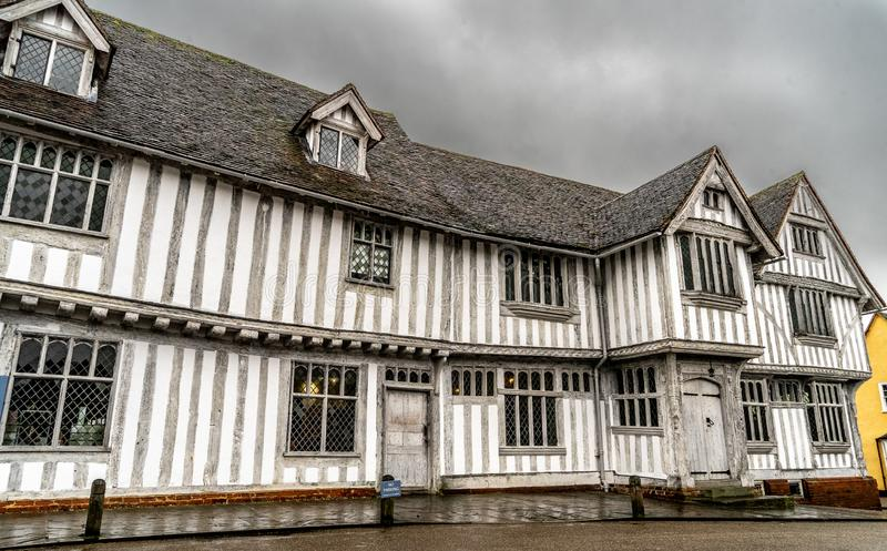 Guildhall Lavenham arkivfoto