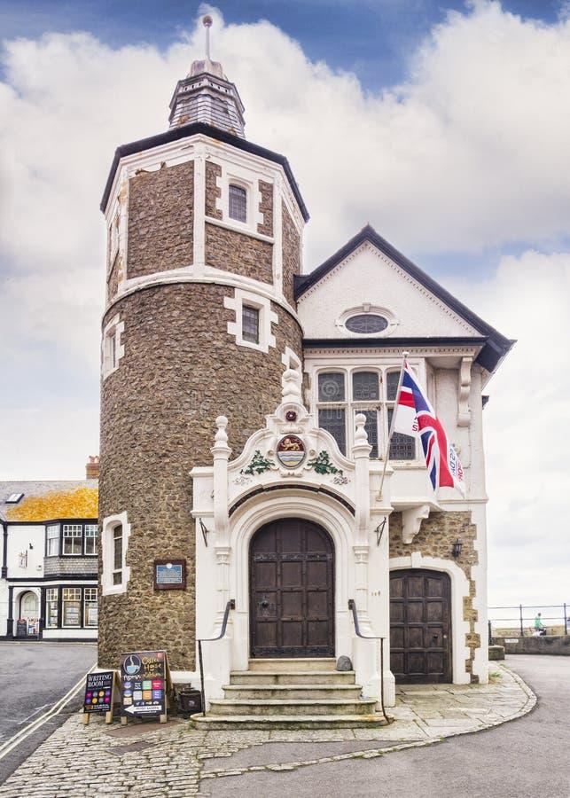 Guildhall Lyme Regis Devon UK royaltyfria foton