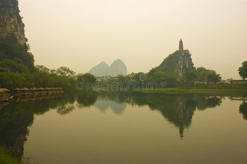 Guilin. Photo of guilin scenery in china stock images