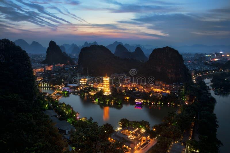 Guilin China fotografía de archivo libre de regalías
