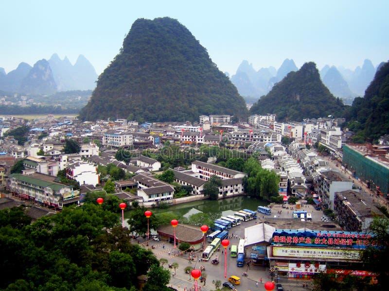 Guilin - Hong Kong stockfotos