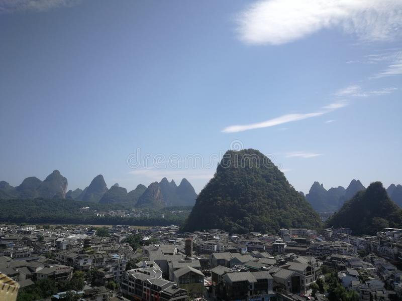 Scenery pictures in Guilin royalty free stock images