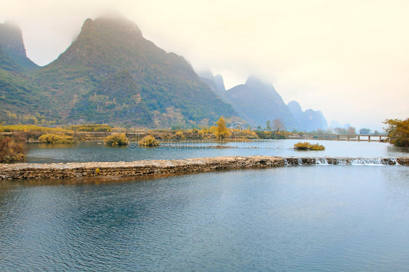 Guilin Landscape.China immagini stock