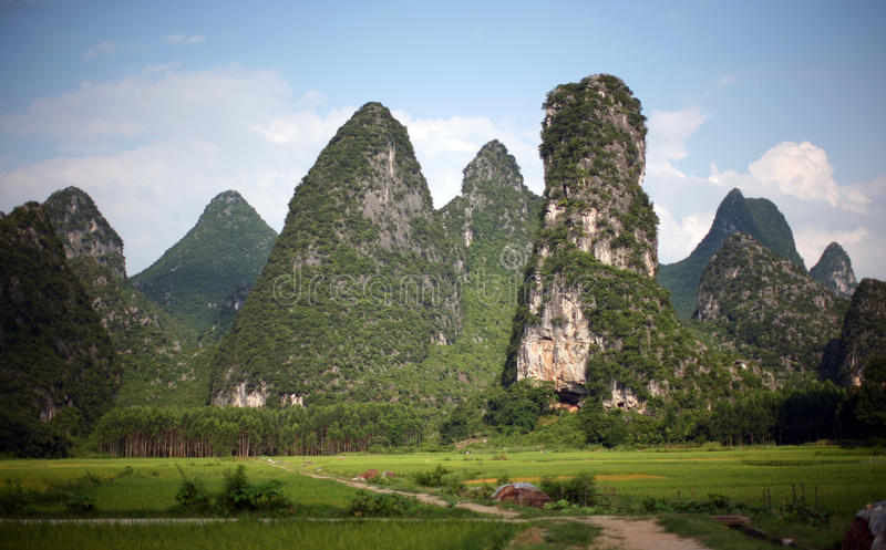 Guilin landscapes royalty free stock photos