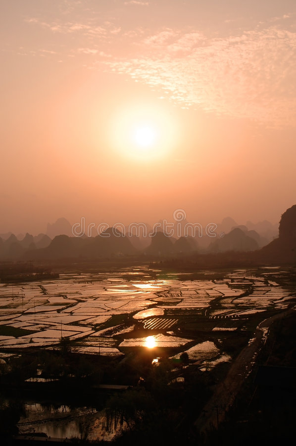 Guilin landscapes royalty free stock photography