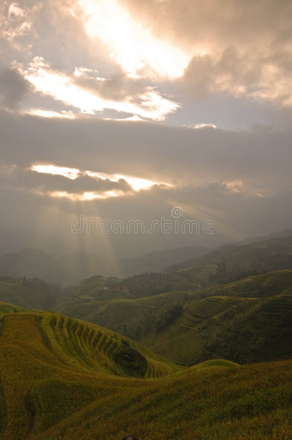 Guilin landscapes royalty free stock images