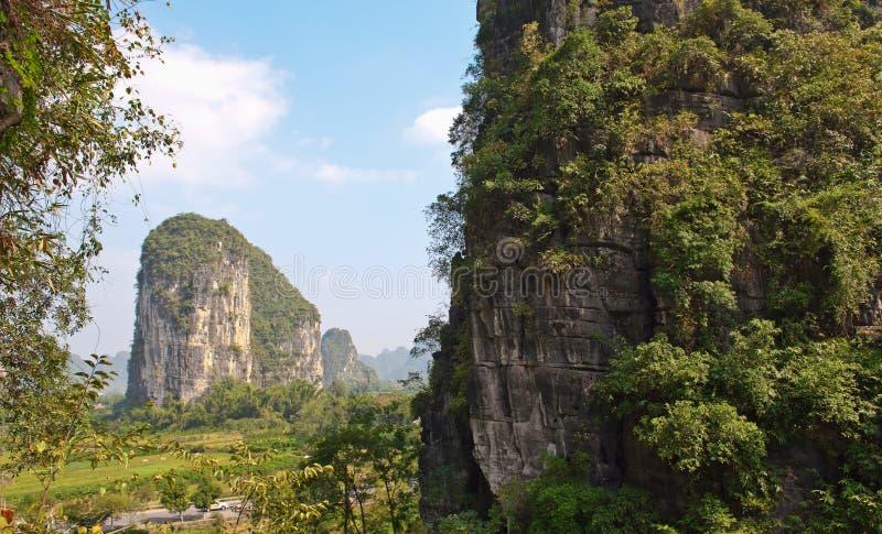 Guilin mountains, China royalty free stock image