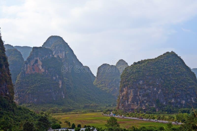Guilin mountains China royalty free stock photo