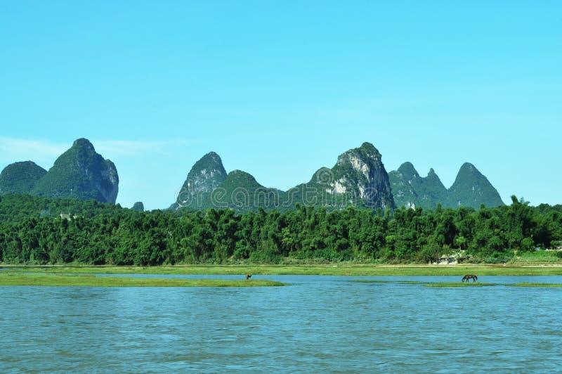 Guilin& x27 ; paysage de s photographie stock