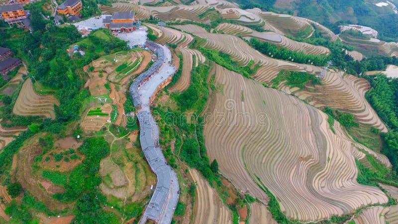 Guilin posteriore il Guangxi Cina del drago immagini stock libere da diritti
