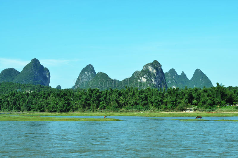 Guilin's scenery stock photography