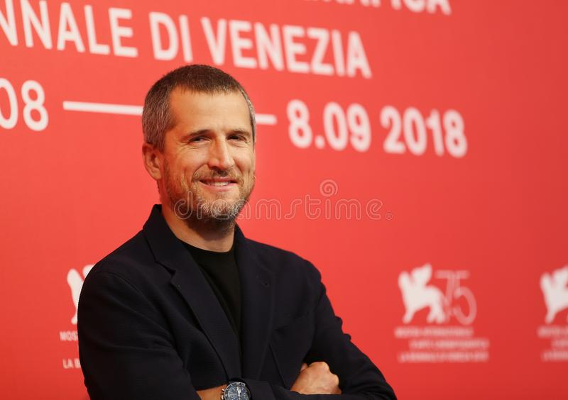 Guillaume Canet attends `Doubles Vies Non Fiction`. Photocall during the 75th Venice Film Festival at Sala Casino on August 31, 2018 in Venice, Italy stock images