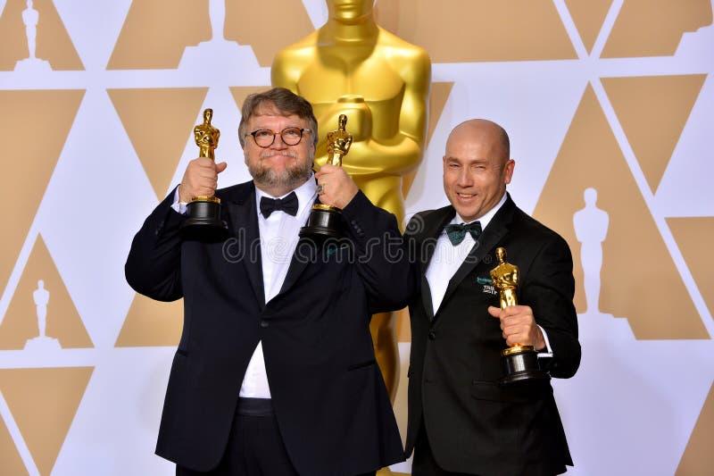 Guillermo del Toro Miles Dale zdjęcia stock