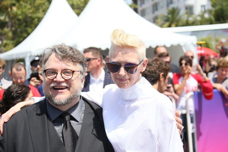 Guillermo del Toro, Tilda Swinton imagenes de archivo
