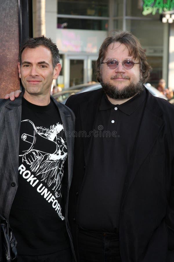 Guillermo Del Toro, Vicente Natali imagen de archivo