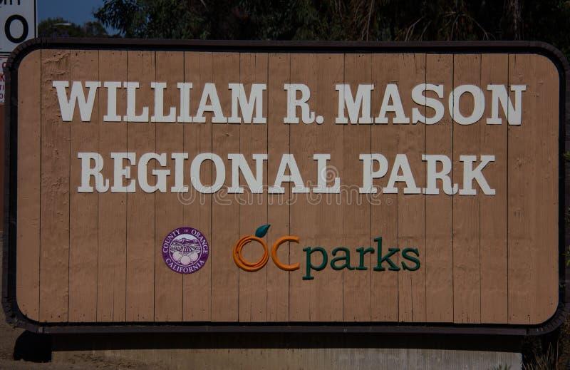 Guillermo R Mason Regional Park foto de archivo libre de regalías