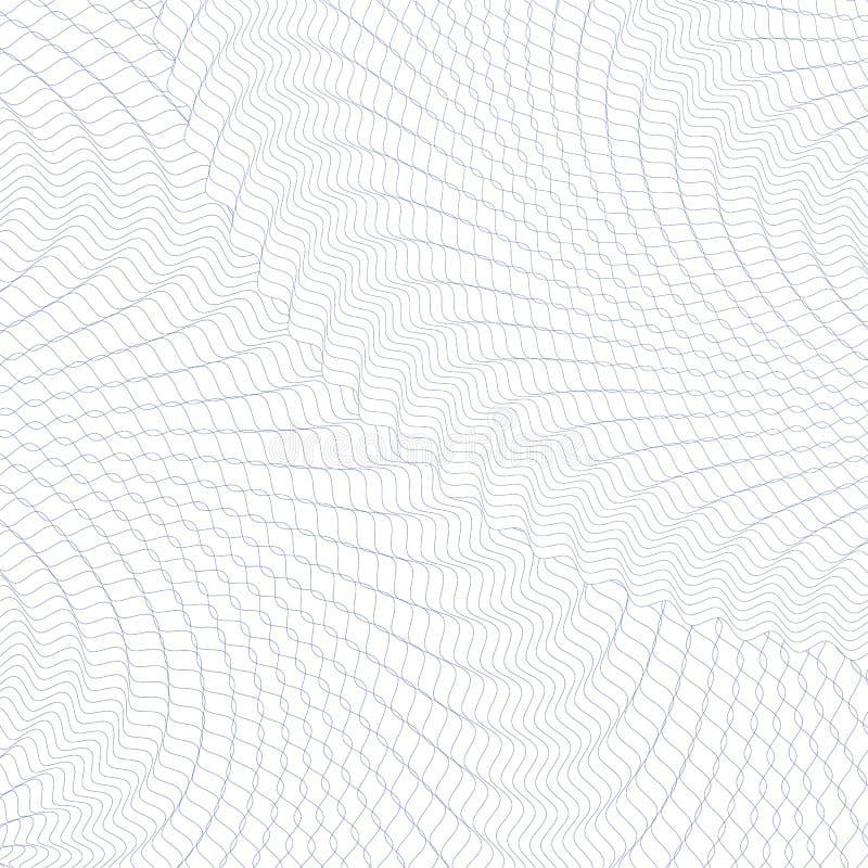 Guilloche achtergrond vector illustratie
