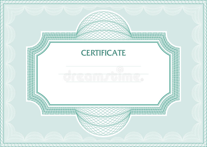 Download Guilloche  frame stock vector. Illustration of intersection - 20521995