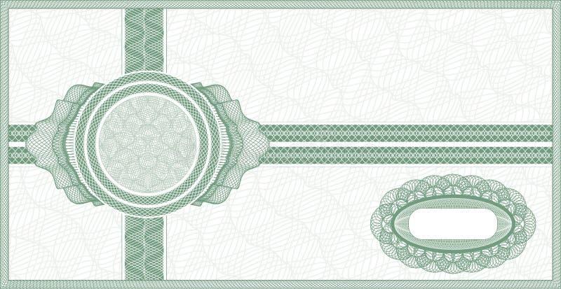 Download Guilloche voucher stock vector. Image of certificate - 26069985