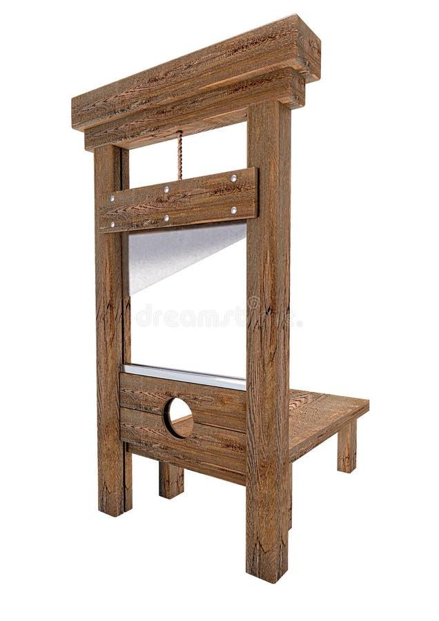 guillotine stockfoto