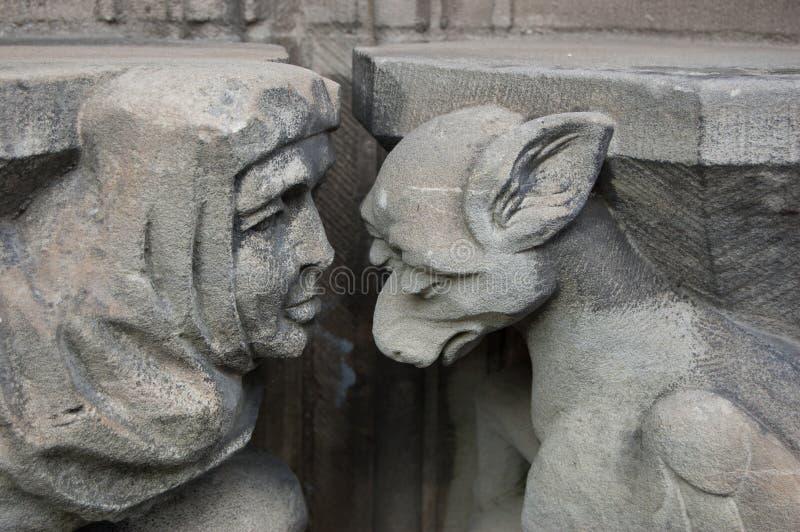 Download Guilt, Shame, Sorrow. Caen. Saint Pierre Church Stock Image - Image: 26841785