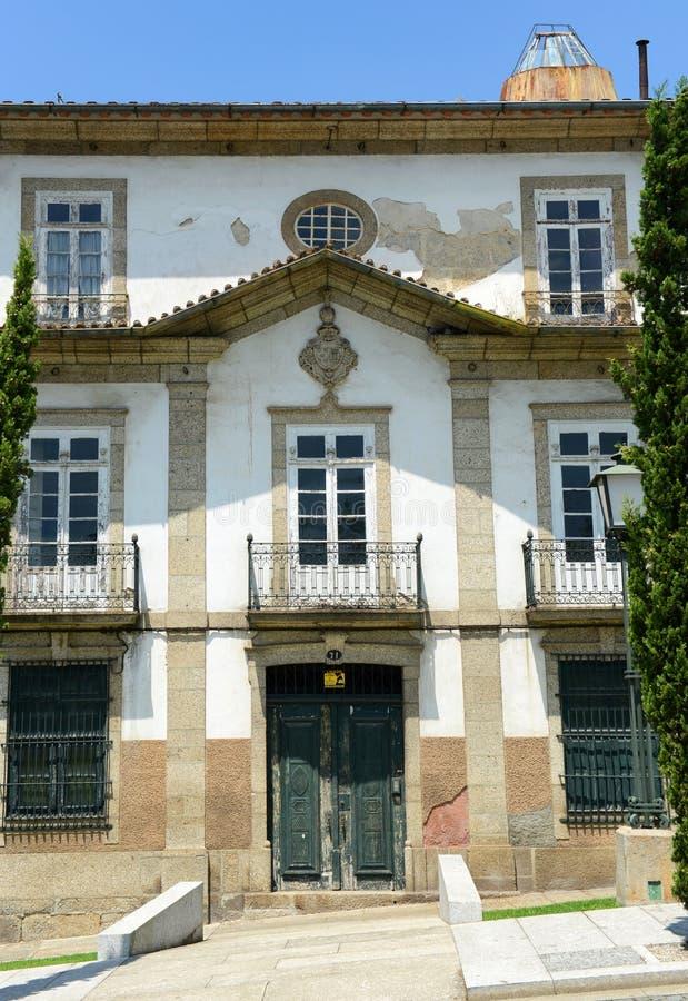 Guimarães Historisch Centrum, Portugal stock foto