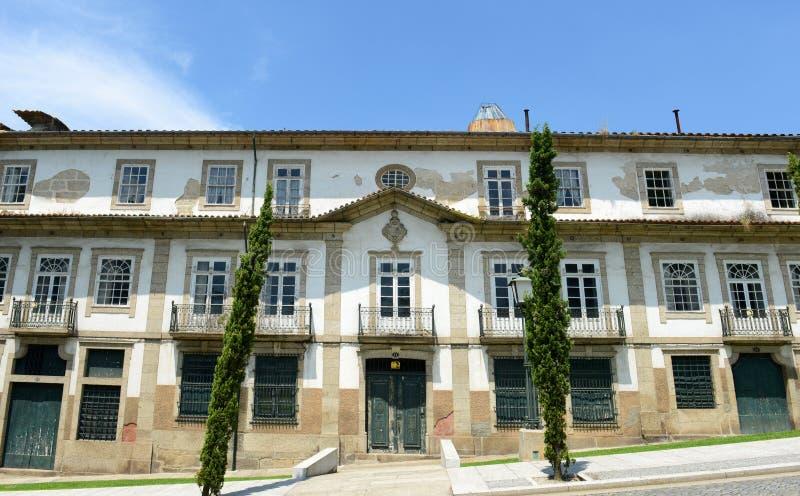 Guimarães Historisch Centrum, Portugal royalty-vrije stock afbeelding