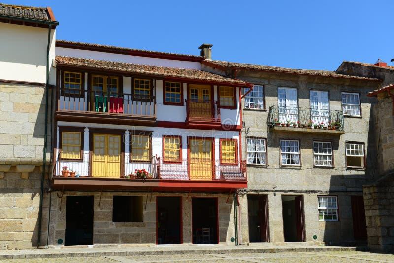 Guimarães Historisch Centrum, Portugal stock fotografie