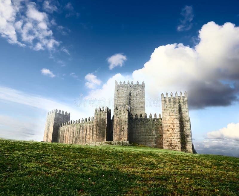 Guimaraes Castle, Πορτογαλία στοκ φωτογραφία με δικαίωμα ελεύθερης χρήσης