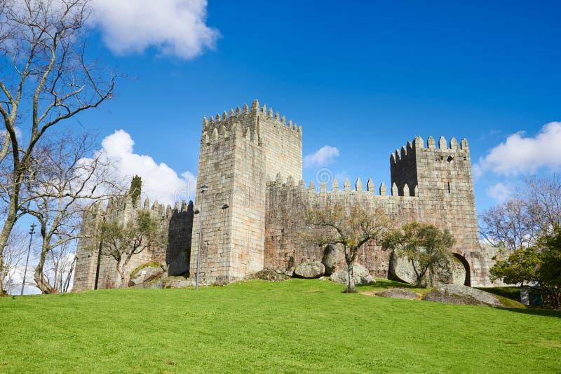 Guimaraes Castle, Πορτογαλία στοκ εικόνα