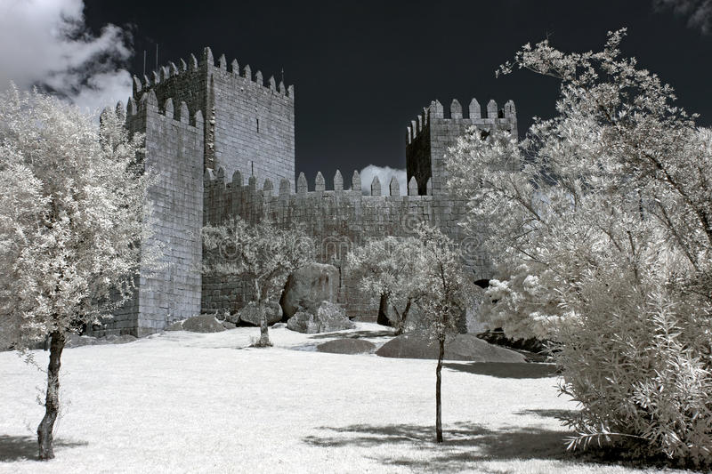 Guimaraes Castle royalty free stock photography