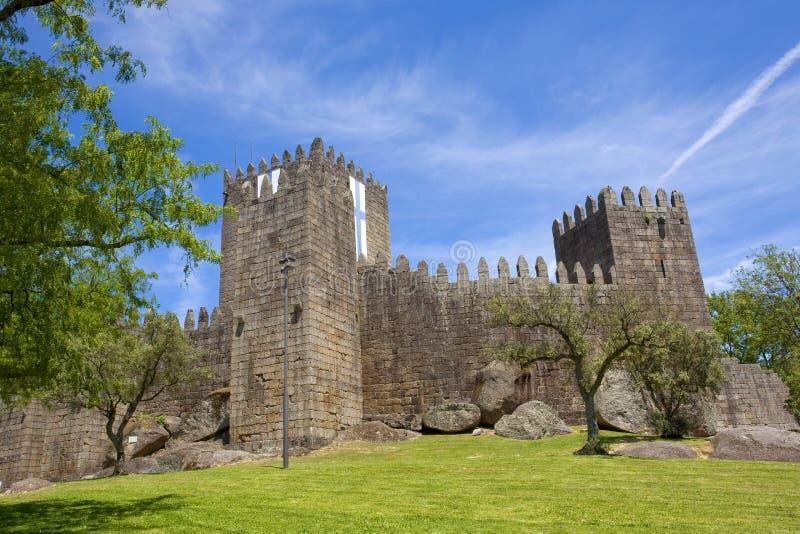 Guimaraes kasteel royalty-vrije stock foto's