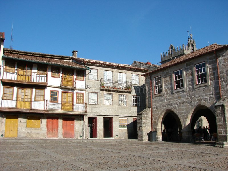 Guimaraes, Portugal royalty free stock photo