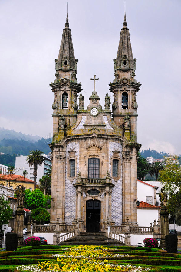 Guimareas教会 库存图片