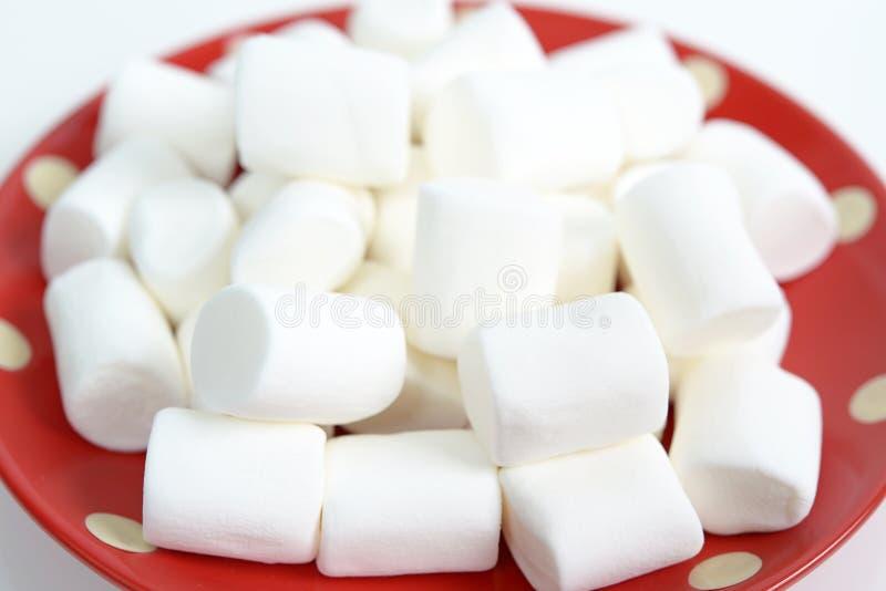 Guimauves blanches image libre de droits