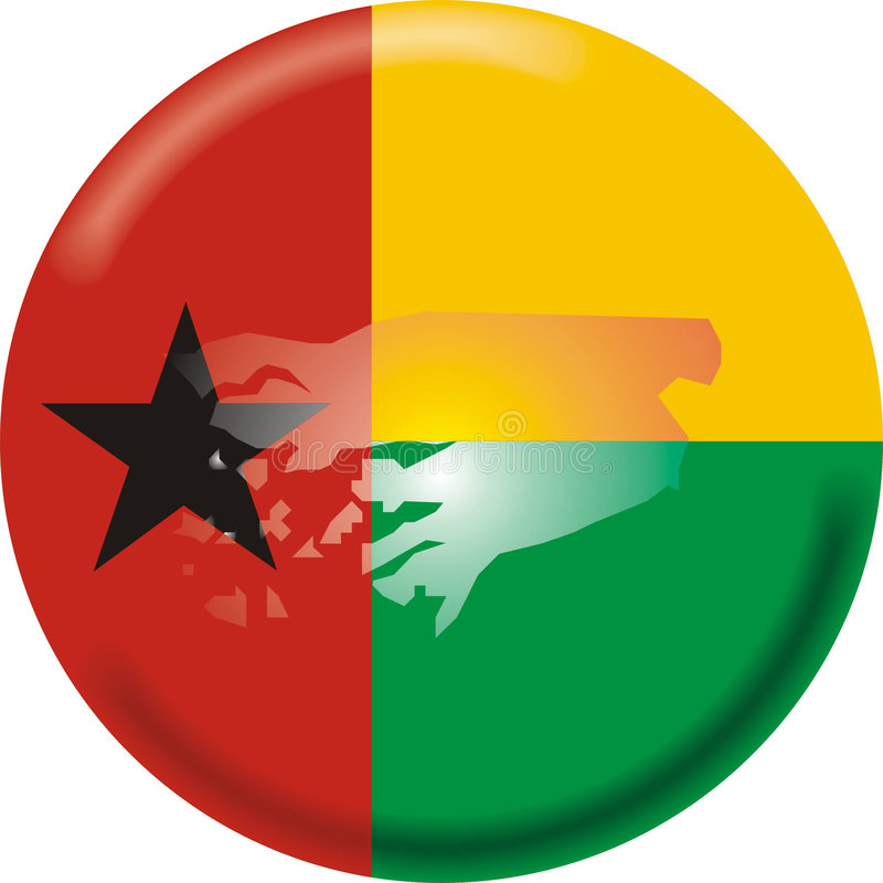 Guiné-Bissau ilustração royalty free