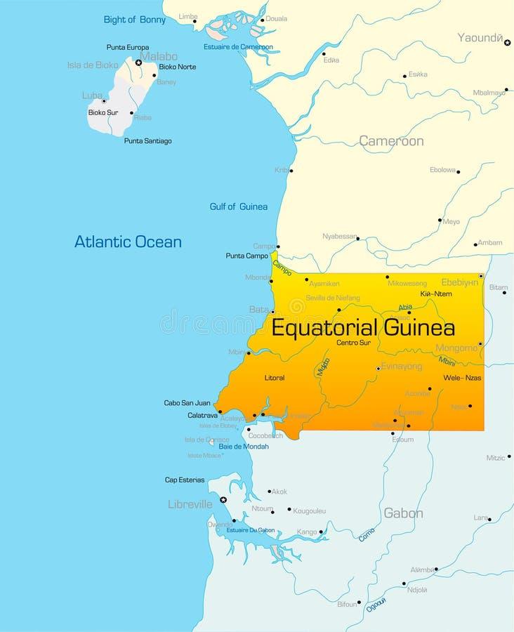 Guinée équatoriale illustration libre de droits