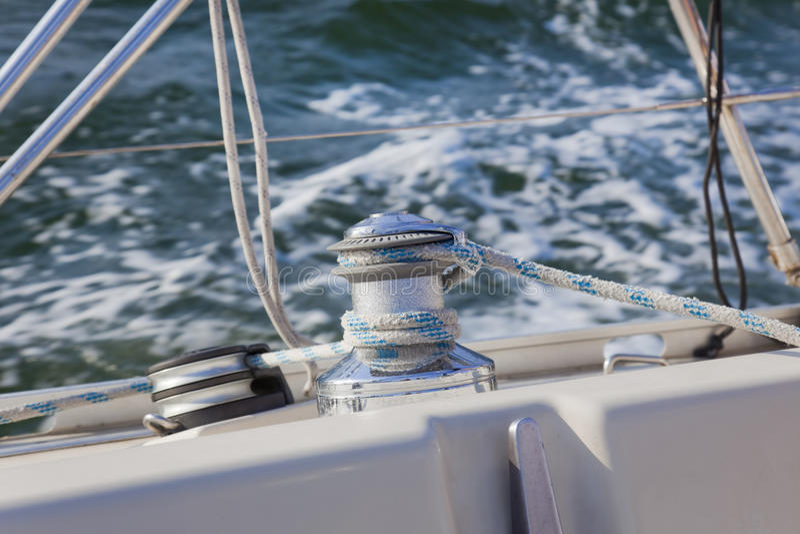 Guincho do barco de vela/yachting imagem de stock royalty free